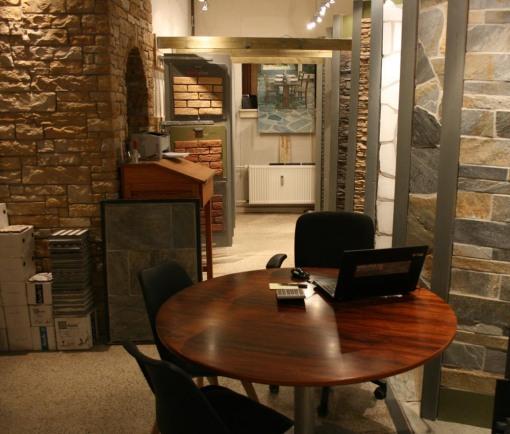 Væg og gulvfliser til rustik indretning.